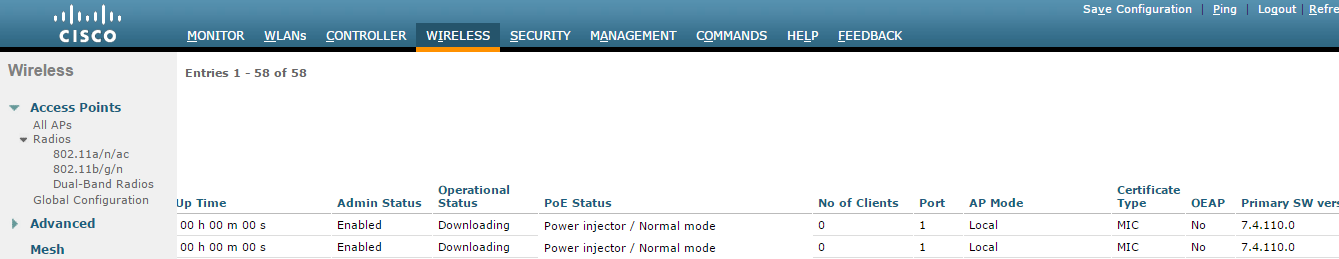 Troubleshoot Access Point Not Joining a Wireless LAN