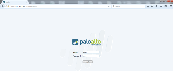 Palo Alto to Internet | Root