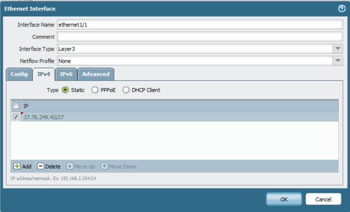 Configure Palo Alto to allow inside DMZ (FTP server)   Root